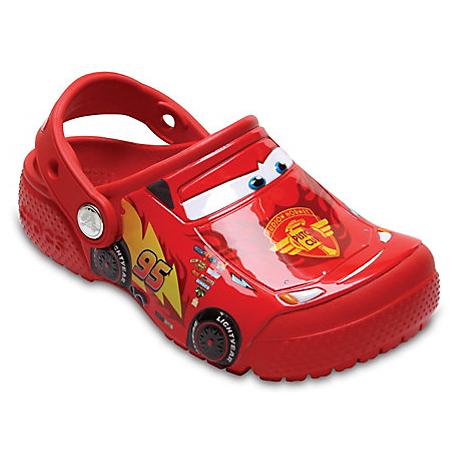Dětské kroksy (rekreační obuv) CROCS-FunLab Cars Clog K flame