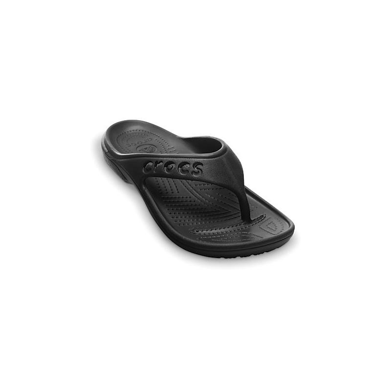 Žabky (plážová obuv) CROCS-Baya Flip black 45/46 Černá