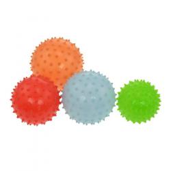 Fitness lopta LIFEFIT - Masážna lopta, 10cm mix farieb