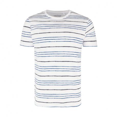 Pánske tričko s krátkym rukávom VOLCANO-T-STING-WHITE