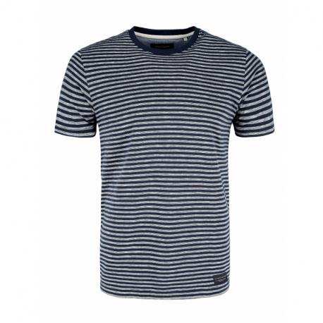 Pánské triko s krátkým rukávem VOLCANO-T-Maveric-NAVY MEL