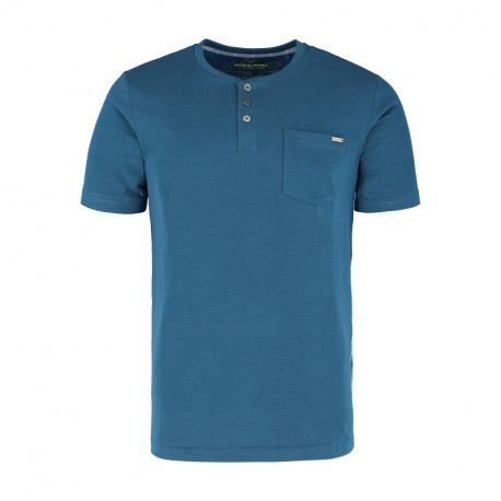 Pánské triko s krátkým rukávem VOLCANO-T-hůbr-BLUE DARK