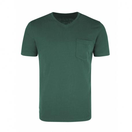 Pánské triko s krátkým rukávem VOLCANO-T-FARGO-GREEN MEL