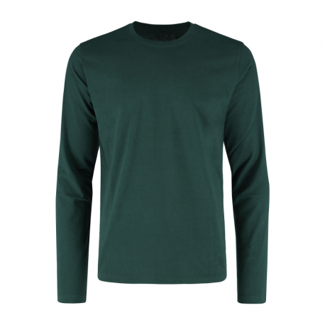 Pánské triko s dlouhým rukávem VOLCANO-L-HALS-GREEN