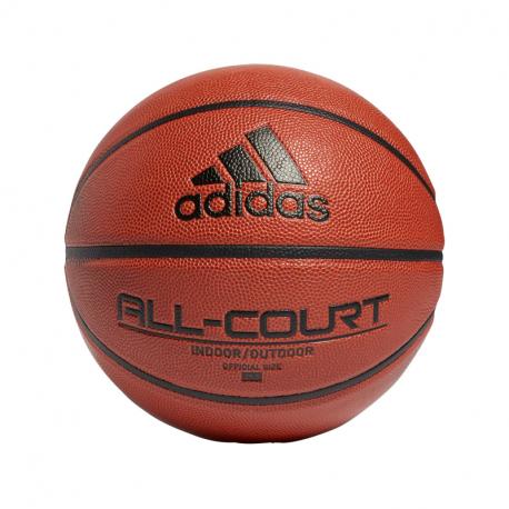 Basketbalová lopta ADIDAS ORIGINALS-ALL COURT 2.0 - ČERNÁ / ROYBLU / ŽLUTÁ /