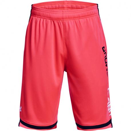 Chlapecké tréninkové kraťasy UNDER ARMOUR-UA Stunt 3.0 Shorts-RED