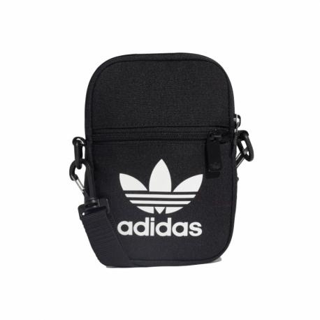 Malá taška cez rameno ADIDAS ORIGINALS-FEST BAG TREF - BLACK