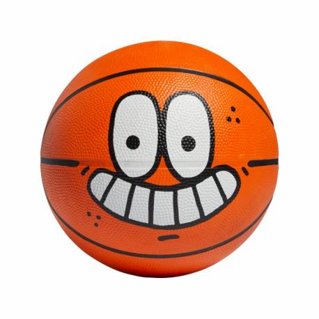 Basketbalový míč ADIDAS ORIGINALS-LIL STRIPE BALL - ORANGE / BLACK / WHITE