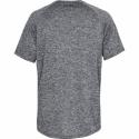 Pánske tréningové tričko s krátkym rukávom UNDER ARMOUR-UA Tech 2.0 SS Tee-BLK 002 -
