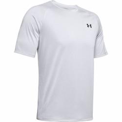 Pánske tréningové tričko s krátkym rukávom UNDER ARMOUR-UA Tech 2.0 SS Tee Novelty-GRY