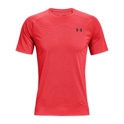 Pánske tréningové tričko s krátkym rukávom UNDER ARMOUR-UA Tech 2.0 SS Tee Novelty-RED 628