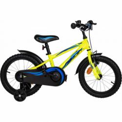 Detský horský bicykel AMULET-Mini 16, yellow shine 2020