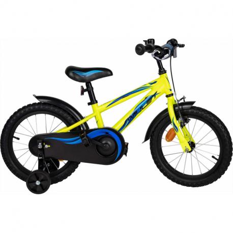 Dětské horské kolo AMULET-Mini 16, yellow shine 2020