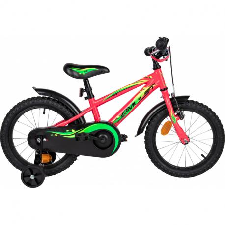 Detský horský bicykel AMULET-Mini 16, pink shine 2020