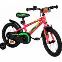 Detský horský bicykel AMULET-Mini 16, pink shine 2020 -