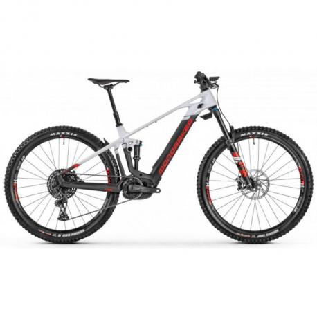 Horský bicykel MONDRAKER-Crafty Carbon R, carbon/white/red, 2021