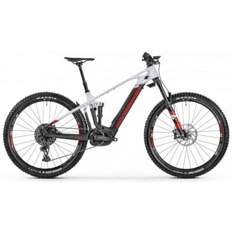 Horský elektrobicykel MONDRAKER-Crafty Carbon R, carbon/white/red, 2021