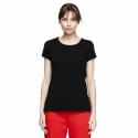 Dámske tričko s krátkym rukávom 4F-WOMEN-S T-SHIRT DEEP BLACK-NOSH4-TSD001-20S -