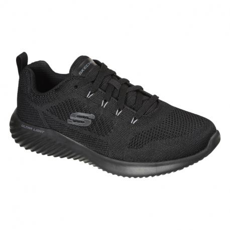 Pánska rekreačná obuv SKECHERS-Bounder Rinstet black
