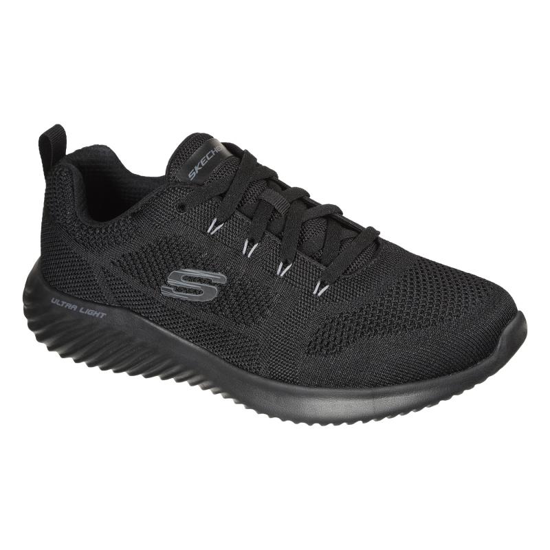 Pánská rekreační obuv SKECHERS-Bounder Rinstet black 46 Černá