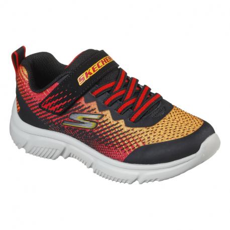 Dětská rekreační obuv SKECHERS-Go Run 650 Norval black / red