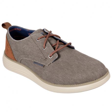 Pánská rekreační obuv SKECHERS-Status 2.0 Pexton taupe