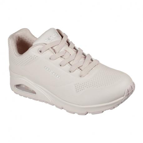 Dámská rekreační obuv SKECHERS-Uno Frosty Kicks light pink