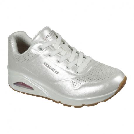 Dámska rekreačná obuv SKECHERS-Uno Pearl Queen white