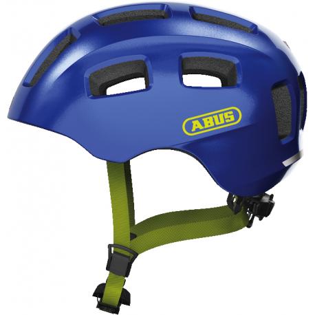 Juniorská cyklistická prilba ABUS-Youn-I 2.0 sparkling blue