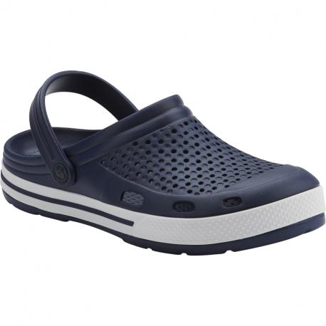 Pánske kroksy (rekreačná obuv) COQUI-Lindo navy/white/navy