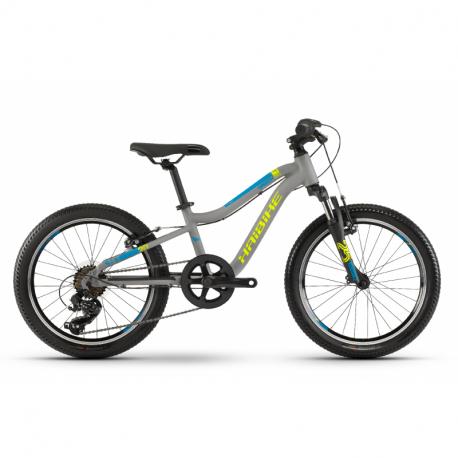 Detský horský bicykel HAIBIKE-Greedy 20 SF - grey_limetka_blue - 20