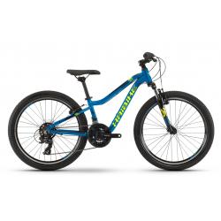 Juniorský horský bicykel HAIBIKE-Seet HardFour 1.0 - blue_yellow_black - 24