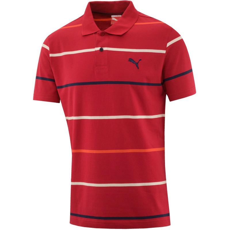 a22393c1a618 Pánske polo tričko s krátkym rukávom PUMA-FUN S.Casual Striped Polo -