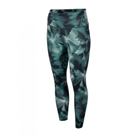 Dámské legíny 4F-WOMENS Leggings-H4L21-LEG014-91A-MULTICOLOR 1 ALLOVER