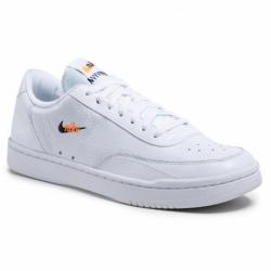 Pánska vychádzková obuv NIKE-Court Vintage Premium white/total orange/black