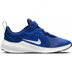 Detská rekreačná obuv NIKE-Downshifter 10 PSV blue/white/black