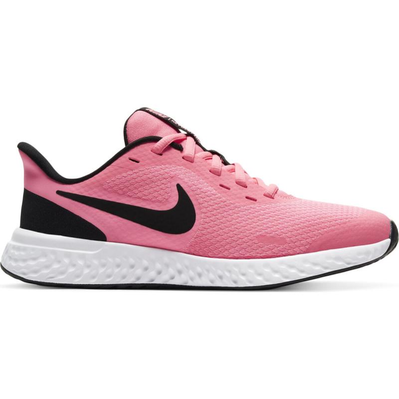 NIKE-Revolution 5 GS pink/black/white Ružová 38,5