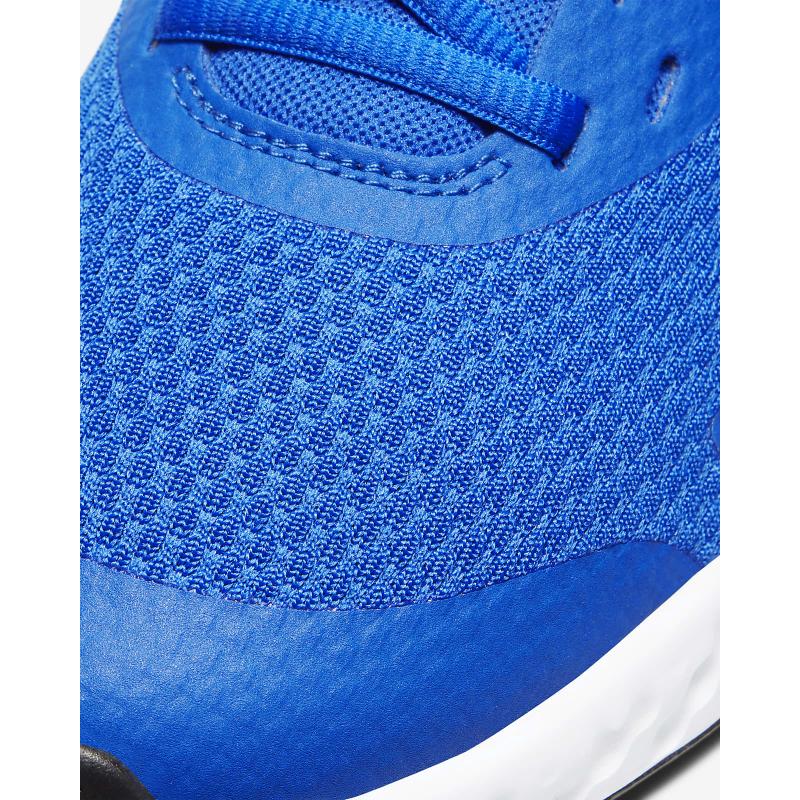 Juniorská sportovní obuv (tréninková) NIKE-Revolution 5 GS royal blue / grey / white -