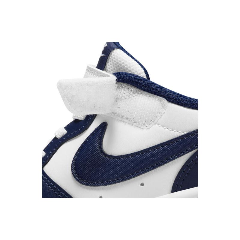 Detská rekreačná obuv NIKE-Court Borough Low 2 PSV white/blue -
