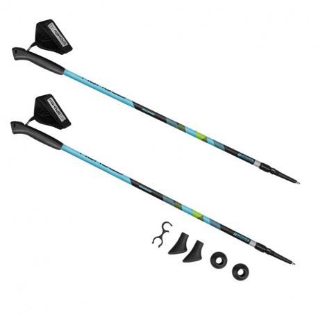 Nordic walking palice SPOKEY-MEADOW II Blue