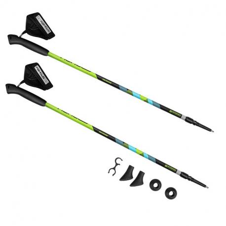 Nordic walking palice SPOKEY-MEADOW II Green