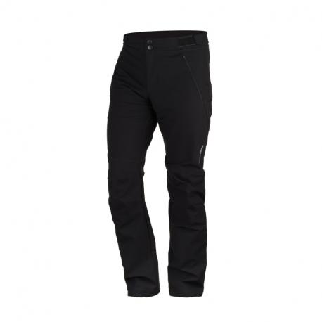 Pánske turistické softshellové nohavice NORTHFINDER-KERINKTON-269black