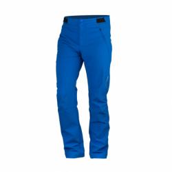 Pánske turistické softshellové nohavice NORTHFINDER-KERINKTON-281blue