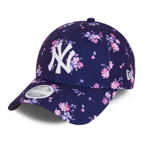 Dámská kšiltovka NEW ERA-940W MLB Floral 9forty NEYYAN - blue