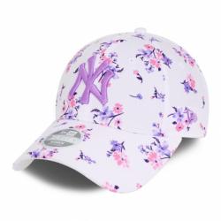 Dámska šiltovka NEW ERA-940W MLB Floral 9forty NEYYAN - white