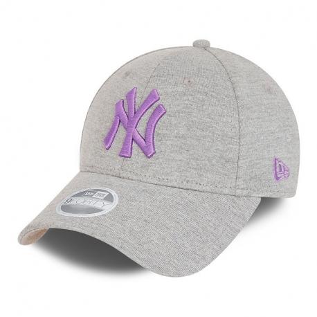 Juniorská šiltovka NEW ERA-940K MLB cy Jersey essential 9forty NEYYAN - grey