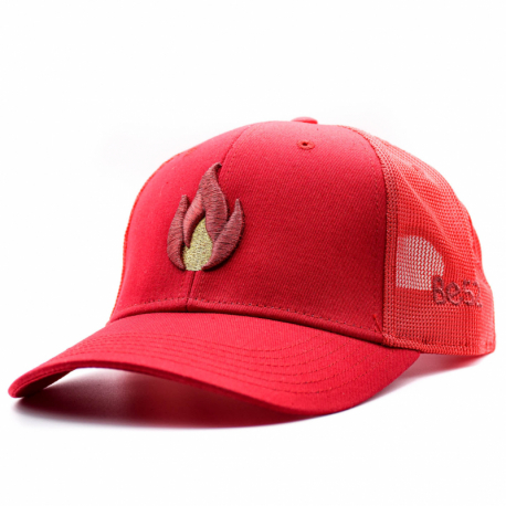 Šiltovka BE52-FLAME Cap Red