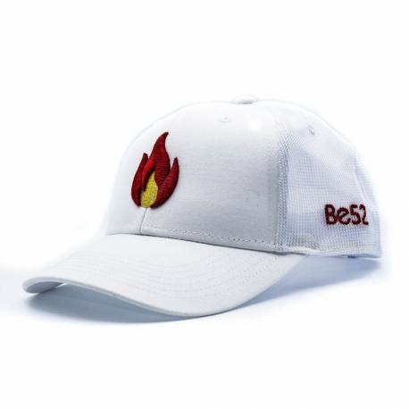 Šiltovka BE52-FLAME Cap White