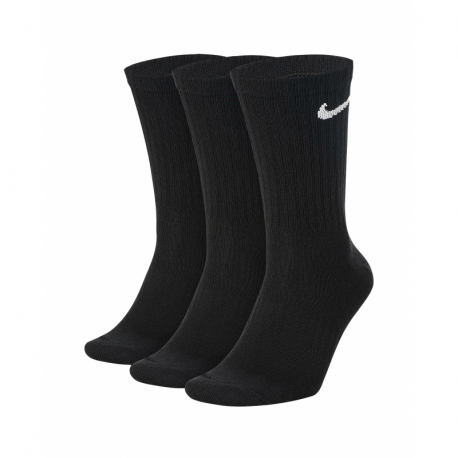 Ponožky NIKE-U NK EVERYDAY LTWT CREW 3PR-Black