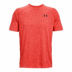 Pánske tréningové tričko s krátkym rukávom UNDER ARMOUR-UA Tech 2.0 SS Tee-RED 690